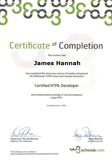 HTML Certification | RF Test and Measurement Solutions